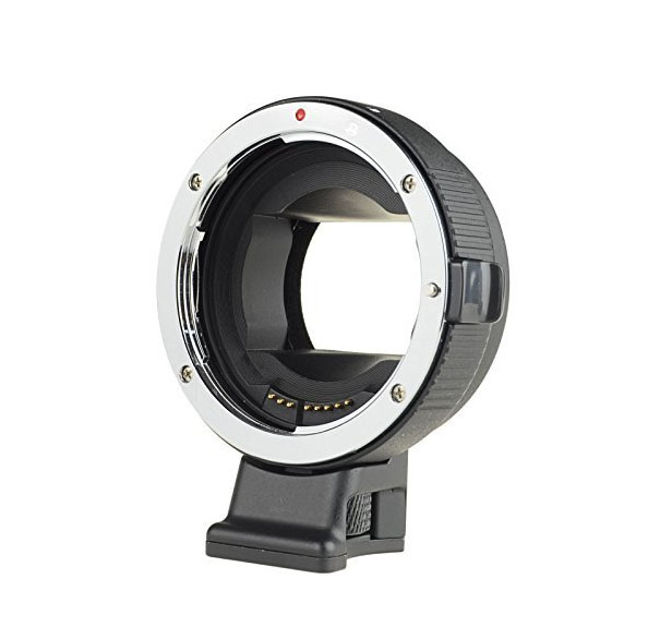 EF-nex lens adapter for A7 A7R, Auto focus support full frame no Dark corner camera auto focus lens adapter ii for canon eos ef ef s to sony full frame nex a7 a7r