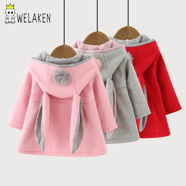 af0407868e5a Hot Sale Children Coats Autumn Winter Girls Warm Coat Cute Cartoon ...