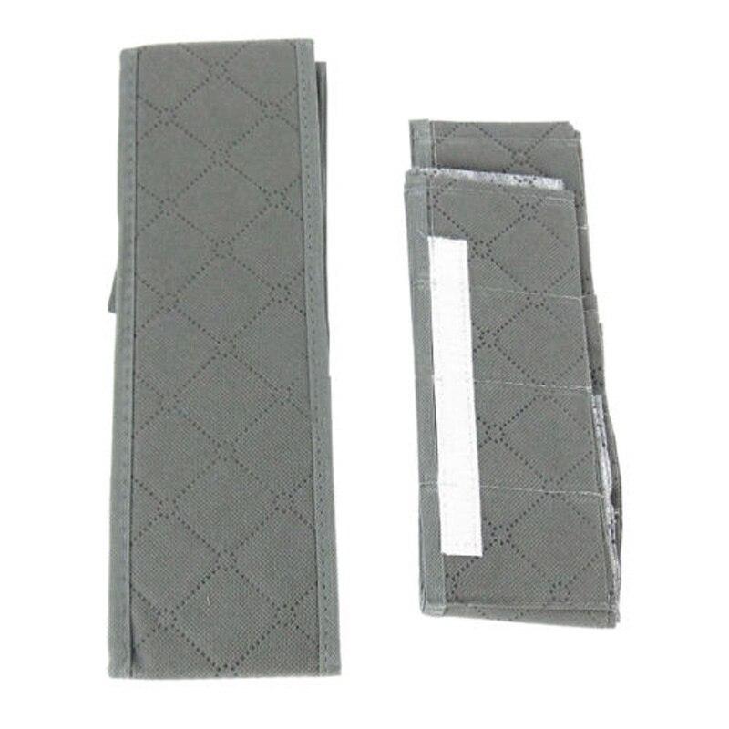 Storage Box Organizer Closet 30 Grid Slots Wardrobe Non-woven Fabric Bamboo Socks Drawer Foldable Design Organizer(China)