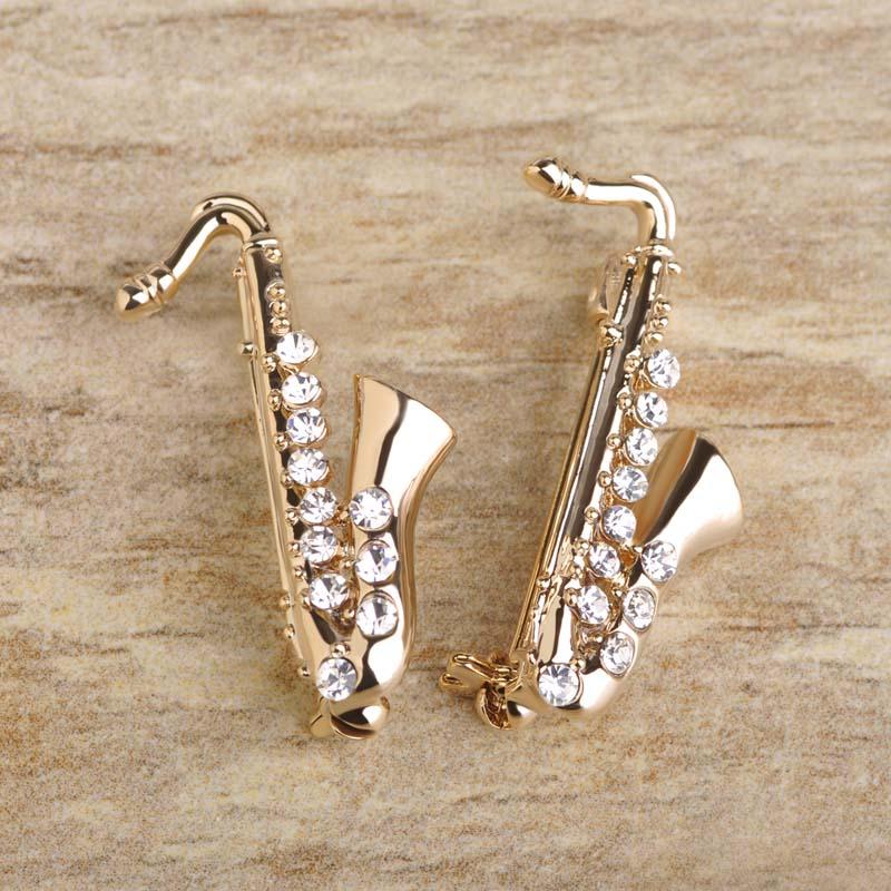 Mini Pin-alto Sax joyas joyas