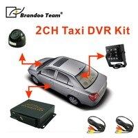 2 камеры рекордер системы для автобуса и такси используется, в том числе 2 шт камеры и 2 шт 5 м видео кабель