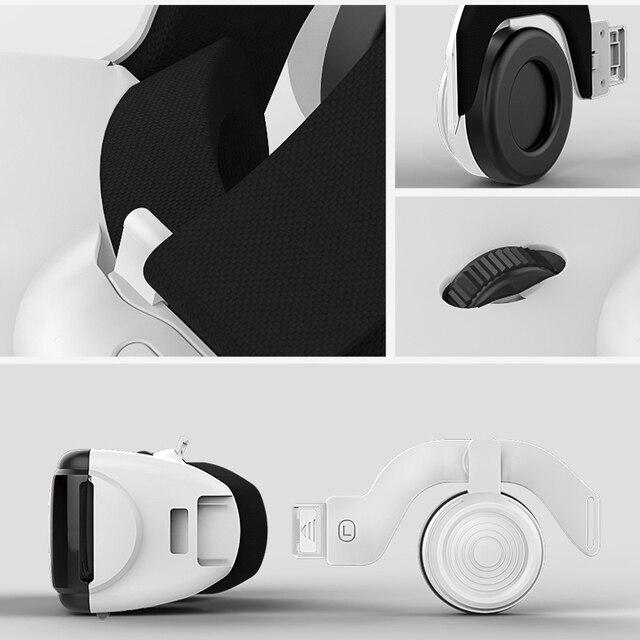 VR Shinecon G06E Casque Helmet 3D Glasses Virtual Reality Lens For Smartphone Smart Phone Google Cardboard Headset Goggles 3 D 4