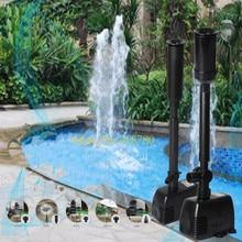 600-1800л/ч SUNSUN Садовый пруд водяной фонтан насос аквариумный аквариум погружной насос отстойник водопад