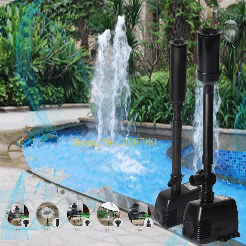 Погружной насос для аквариума, 600-1800л/ч, для садового пруда, фонтана, аквариума, водопада