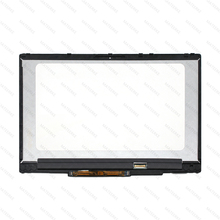 IPS LED LCD Touch Screen Digitizer Display assmebly With Bezel For HP Pavilion x360 15-CR0085CL 15-CR0087CL цены онлайн