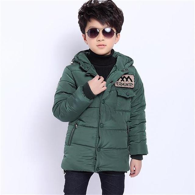 Autumn winter children clothing wadded jacket made of pure cotton jacket winter coat boys