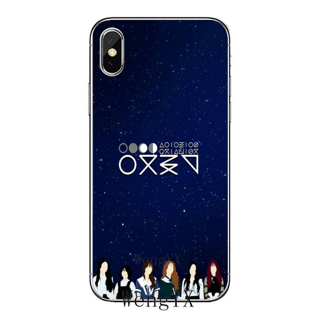 US $1 99 |TPU Soft Accessories phone cover case For Apple iPhone X XR XS  Max 8 7 6s 6 plus SE 5s 5c 5 4s 4 GFriend kpop Korean group girl-in