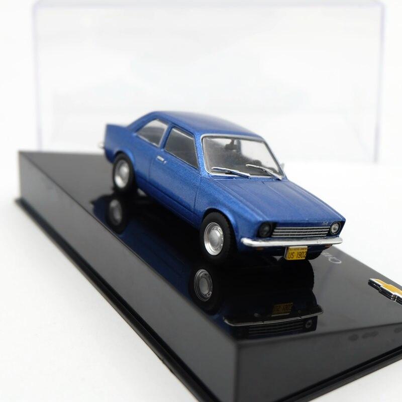 Altaya 1:43 Modelos Diecast IXO Chevrolet Chevette Luxo 1973 Brinquedos Do Carro Dom Coleção
