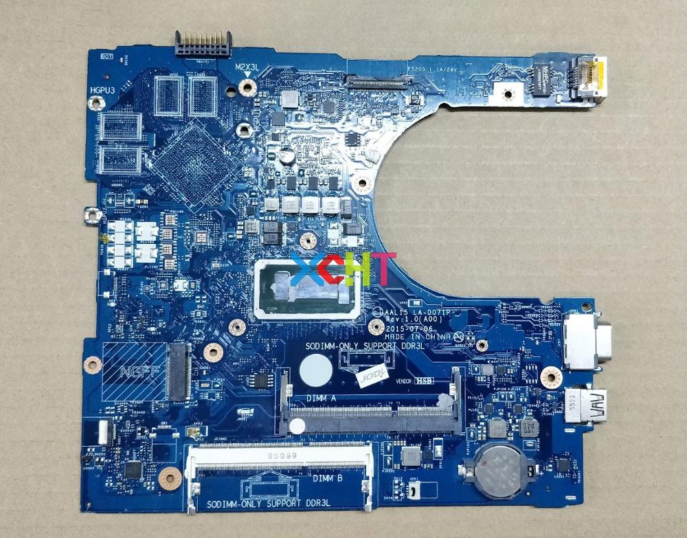 for Dell Vostro 3559 3459 011M2 0011M2 CN 0011M2 AAL15 LA D071P w i5 6260U CPU Laptop Motherboard Mainboard Tested-in Laptop Motherboard from Computer & Office