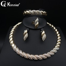 Dubai African beads gold-color classic women wedding jewelry sets Party Gift Fashion Bridal Necklace Earring Bridal Bangle Ring fashion women bridal dubai gold plated wedding jewelry sets african beads accessories exaggerate necklace bangle earrings ring