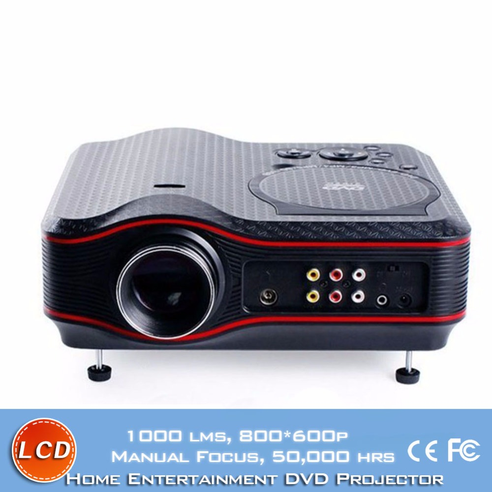 2016 New Cheap 3D TV Projector HD DVD Game Multimedia Player Proyector LED LCD Home Cinema Business Teaching TL91 Beamer mini portable multimedia player dvd player home theater projector led proyector