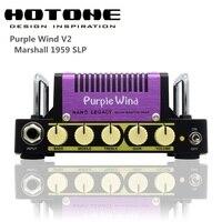 Hotone Nano Наследие серии фиолетовый ветер 5 Вт компактный Гитары Усилители домашние головы Вдохновленный плексиглас супер привести 1959