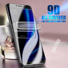 Hydrogel Film For Xiaomi Redmi 6 6A 5A Note 5A 4X 4 Pro Plus 9D Real Soft Full Cover Nano Explosion-proof Screen Protector Cover(China)