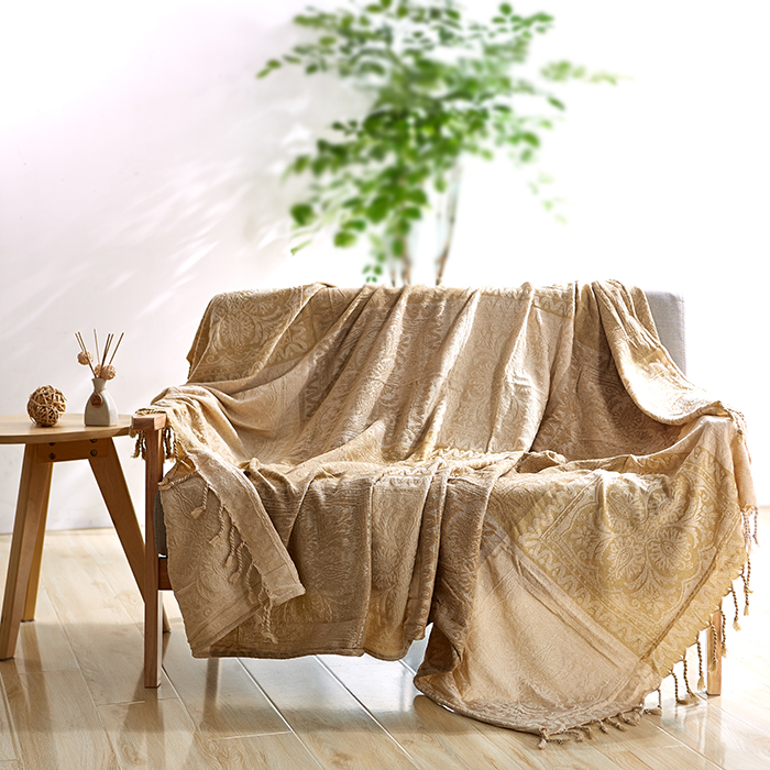 Simple  Chenille blanket sofa decorative slipcover Throws on Sofa/Bed/Plane Travel Plaids Rectangular color stitching blankets  american lattice blanket sofa decorative slipcover throws on sofa bed plane travel plaids rectangular color stitching blankets