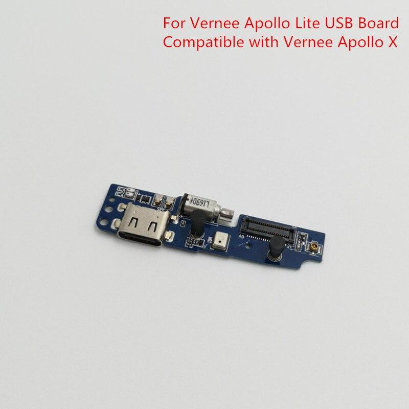 Original For Vernee Apollo Lite Phone USB Plug Charge Board For Vernee Apollo Lite MTK6797 Phone Replacement USB Board