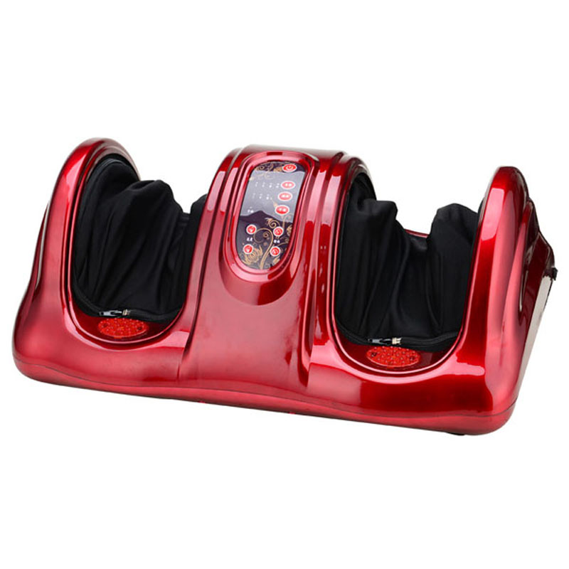 HFR-8802-5 HealthForever Brand Wireless Control Kneading Device Legs Instrument Electric Digital Display Foot Massager Machine hfr 8802 3 healthforever brand wireless control kneading device legs instrument electric shiatsu air bag foot massager machine