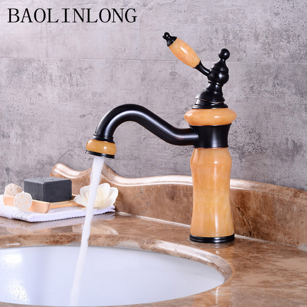 BAOLINLONG Brass bowlder Deck Mount Basin Bathroom Faucet Vanity Vessel Sinks Mixer Basin Faucets TapBAOLINLONG Brass bowlder Deck Mount Basin Bathroom Faucet Vanity Vessel Sinks Mixer Basin Faucets Tap