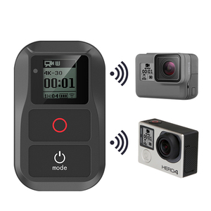 Image 2 - חדש חכם עמיד למים WIFI שלט רחוק עבור GoPro גיבור 8 7 6 5 4 3 גיבור 4 5 מושב + מרחוק מקרה מצלמה אלחוטי אבזרים