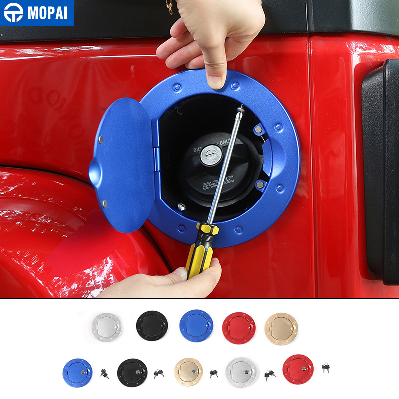 Exterior Parts Newest Aluminum Alloy Fuel Tank Cover Seal Gas Lid Filler Cap With Key Lock Anti Thieft For Jeep Wrangler 11 Up Free Ship Discounts Price Auto Replacement Parts