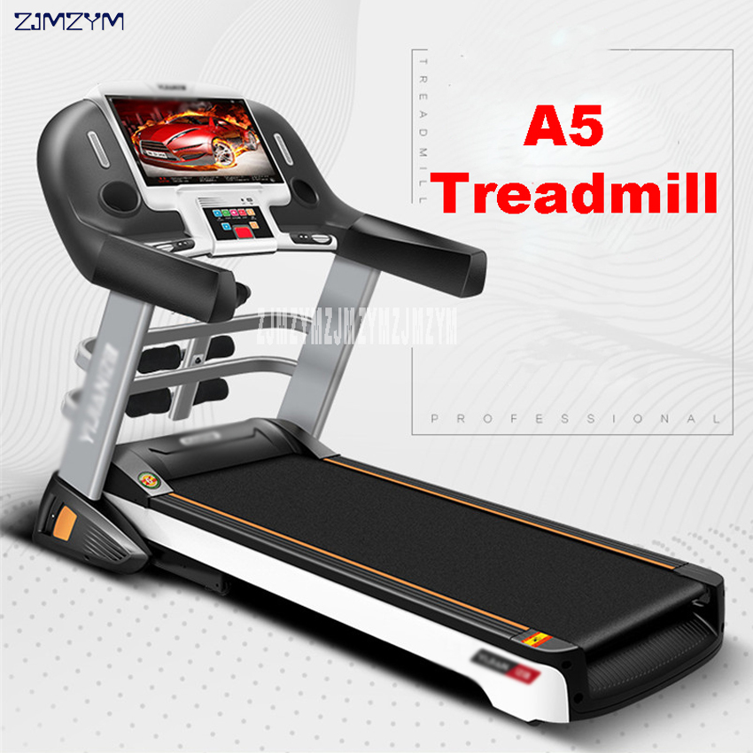 A5 Indoor Electric Treadmill 14.1 inch Color WiFi Super Quiet Multi-purpose Gym Weight Loss home Runing Treadmill 220V/1000W