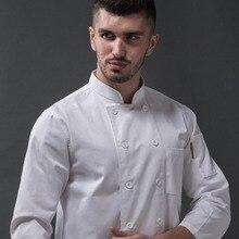 Wholesale cheap white cotton chef jackets men ladies chef's