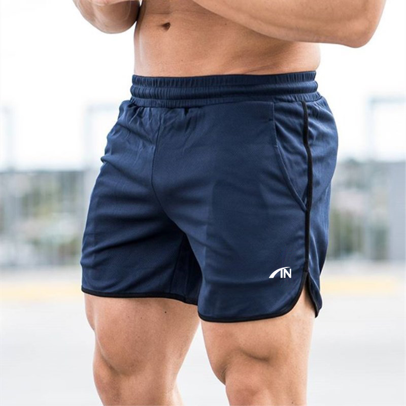 Muscle Aesthetics Men Casual Shorts Solid Color Straight Shorts Male Fitness Fashion Bodybuilding Shorts Brand Trend Menswear