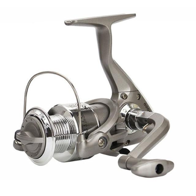 Best Price 8BB SC1000-7000 Series 5.5:1 Ratio Fishing Reels Plastic Base Spincast Reel Fishing Spinning Shot Wheel Tools