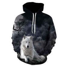 Lce Fire Wolf Hoodies by  3D Men Women Sweatshirts Fashion Pullover Autumn Tracksuits Harajuku Casual Animal