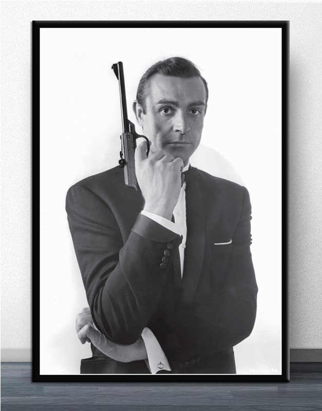 007 Poster Sean Connery