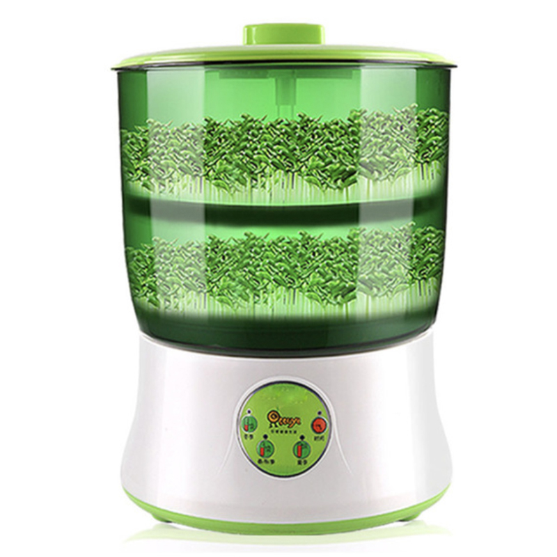 Home Use Intelligence Bean Sprouts Machine Large Capacity Thermostat Green Seeds Growing Automatic Bean Sprout Machine EU USA household automatic multi bean sprout machine rice wine yogurt maker machine large capacity thermostat seeds growing machine