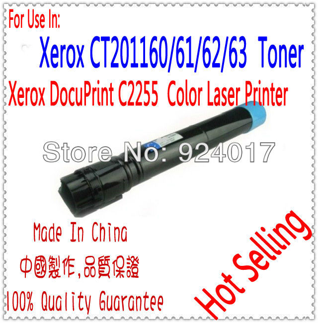 Reset Toner For Fuji Xerox DocuPrint C2255 Laser Printer,CT201164/65/66/67 For Xerox C2255 Toner,Use For Xerox 2255 Toner Refill bovis 5102 02 casual man s pu credit name card wallet slots coffee