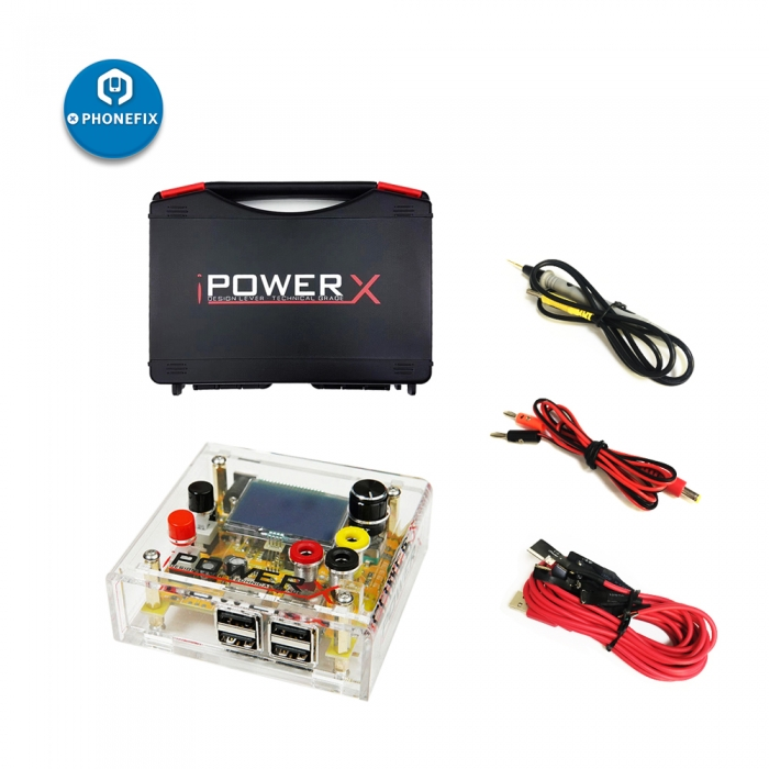 iPOWER X Box high precision DC to DC power supply Cable For Iphone 6 7 8 X Repair high accuracy iPowerX DC Power Supply