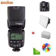 цена Godox TT600 2.4G Wireless Camera Flash Sync Speedlite for Canon Nikon D3100 Pentax Olympus Fujifilm Panasonic Photo FlashLight онлайн в 2017 году