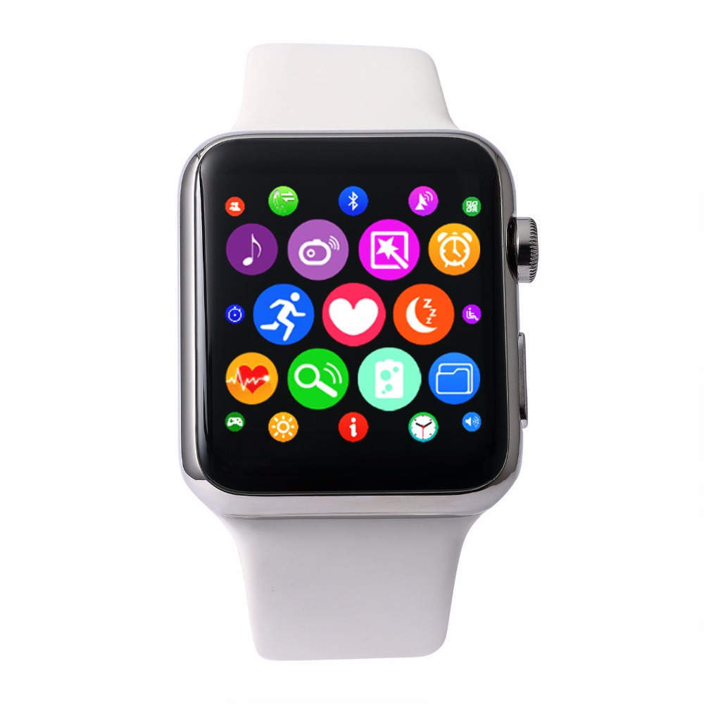 IWO 1:1 Smart Watch Upgrade I69a Heart Rate Monitor MTK2502C  533Mhz CPU 1.54