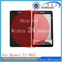 New 7 Inch For Huawei Honor Play Mediapad T1 701 T1 701U T1 701U LCD Display
