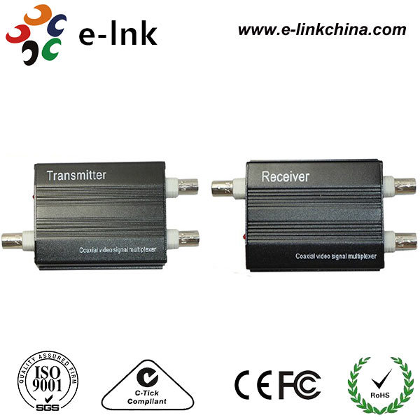 2 Channel Video Multiplexer For 1 Coaxial Cable For Camera