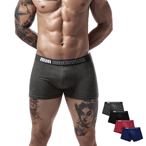 Image 2 - Męskie majtki bokserki męskie kalesony bielizna męska męskie męskie bawełniane bokserki solidne kufry