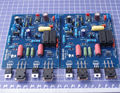 Montado QUAD405 Stereo Audio Power Amplifier Board DC +/-40 V a +/-50 V (3A)
