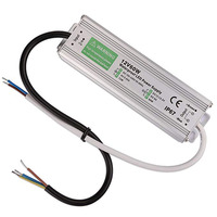 Waterproof 60W LED Transformer IP67 LED Power Supply Driver Adapter to DC12v Output 90V 250V/5A for LED Light