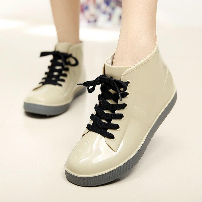 Online Get Cheap Fashion Women Rubber Rain Boots Free Shipping ...