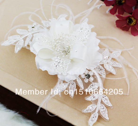 Free shipping white chiffon flower for bridal diy fabric flower free shipping white chiffon flower for bridal diy fabric flower girls hair accessories wedding accessories bridal mightylinksfo