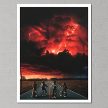 Stranger Things Season 2 Painting Canvas Poster Home Decor Wall Art Modern Picture Retro Panel Print Unframed