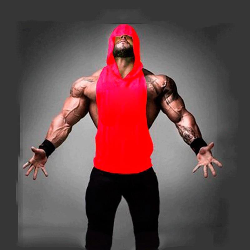 Men's Compression Slimming Shirt Vest Waist Trainer camiseta Hot Body Shaper Fat Burner Shapewear with hooded M-XXL
