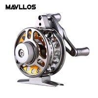 Mavllos Aluminum Frame Fly Fishing Reel 3 Stainless Steel Bearings Ratio 2 2 1 Raft Reel