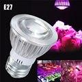 6 LED Grow Light E27 3W Full Spectrum Growth Lamp Bulb Veg Bloom Flowering For Indoor Plants Hydroponics Greenhouse 85-265V