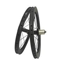 Сема пожизненная гарантия 16 дюймов T800 для Powerway R36 колеса велосипеда углерода колесная clincher углерода диски Велосипеды колеса