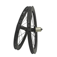 SEMA Lifetime Warranty 16 inch T800 for Powerway R36 bicycle wheel carbon wheelset clincher carbon rims cycling wheels