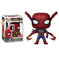 Marvel Avengers 3 Spider Man Around FUNKO POP Beauty Team Iron Man Spiderman Hand Model Figure Collection Model Toy Gifts