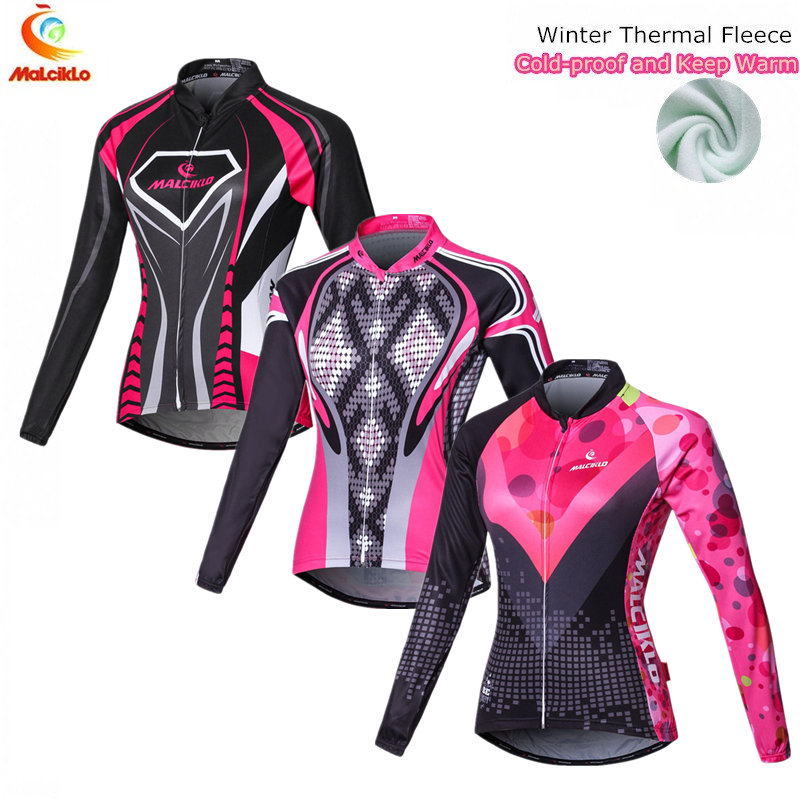 Plus Dimension Winter Biking Jacket Girls Pink Lengthy Sleeve Biking Sport Clothes MTB Bike Bicycle Jersey Ropa Ciclismo Mujer ropa ciclismo mujer, ciclismo mujer, bicycle jersey,Low-cost ropa ciclismo mujer,Excessive...