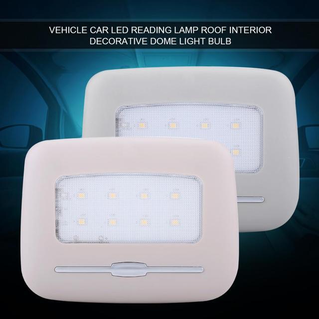 Car Interior Led Light Vehicle Reading Lamp Roof Decorative Dome Bulb